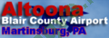 Logo Altoona–Blair County Airport