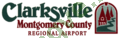 Logo Clarksville–Montgomery County Regional Airport (Outlaw Field)
