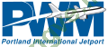 Logo Portland International Jetport
