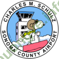 Logo Charles M. Schulz–Sonoma County Airport
